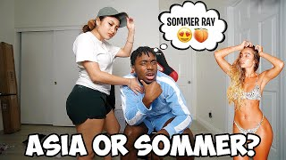 Would You Rather Date My Girlfriend or Sommer Ray? Honest Answer