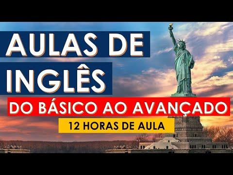 Aulas de Inglês - do Básico ao Avançado   Curso de Inglês completo e GRATUITO