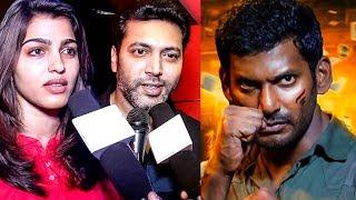Celebrities  Reaction on Irumbu Thirai! | Vishal | Samantha