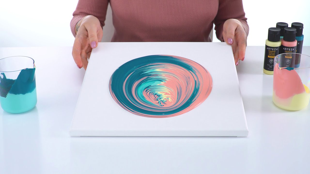 fluid art techniques for beginners by arteza