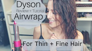Dyson Airwrap On Thin + Fine Hair | Tutorial + Review | Worth It Or Not?? | Jawj