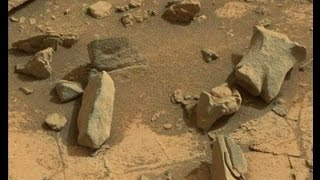 Mars Curiosity Rover Telegraph Peak Anomalies - March 2015