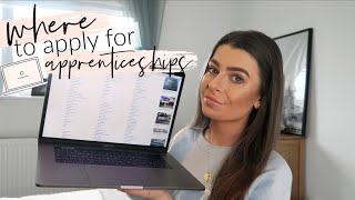 HOW TO FIND THE BEST APPRENTICESHIPS including LEVEL 7 DEGREE *tips & tricks* | HelloAmyy