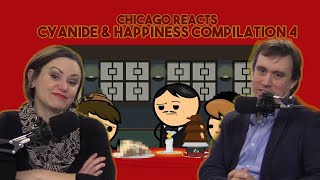 Chicagoans React to Cyanide & Happiness Compilation #4