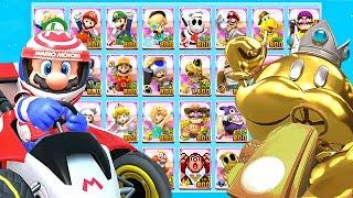 Mario Kart Tour All Characters Unlocked and Golden King Bob-omb, Bowser, Ninja Shy Guy + More (2021)