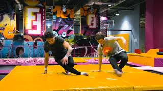 Trampolines Break Dance