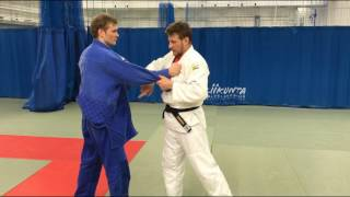 Дзюдо.  Бросок через спину (плечо). Judo.(Kata) Eri seoi nage