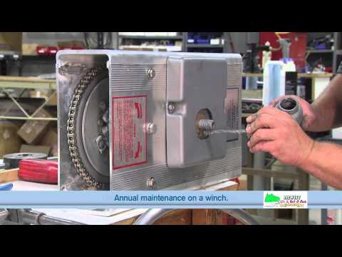 Hewitt Annual Maintenance for 1501, 2001 & 2501 Winch