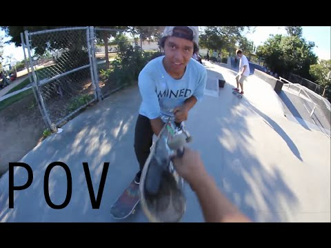 First Time at the Skatepark - POV