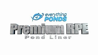 Large Pond Liners   Premium RPE Liners   Everything Ponds