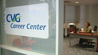 CVG opens career center for those interested in jobs at the airport