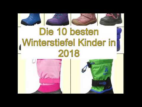 Die 10 besten Winterstiefel Kinder in 2018