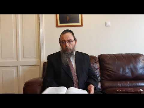 247 A zsidó viták helye a zsidó bíróságon van – Oberlander Báruch (Mispátim hetiszakasz, Bész Din)