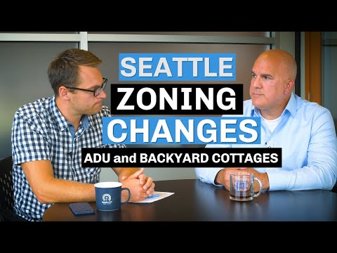Seattle Zoning Changes: ADUs & DADUs (Backyard Cottages)