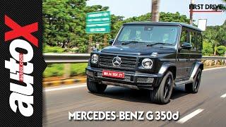 Mercedes-Benz G350d First Drive Video Review