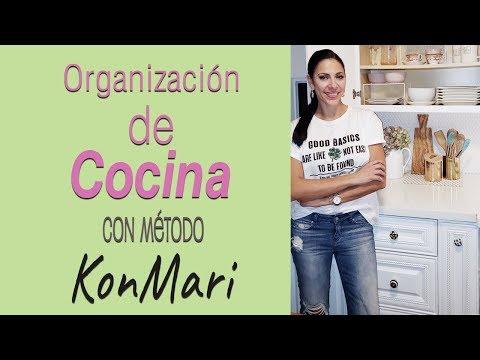 COMO ORGANIZAR LA COCINA CON EL MÉTODO KONMARI Y ARTICULOS DE 1 DOLLAR