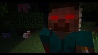 Minecraft: Survival with Herobrine #1 - Спамер Херобрин!