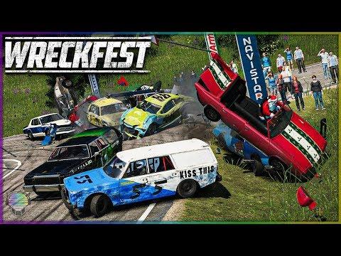 DESTINED FOR DESTRUCTION! [Birkeland] | Wreckfest