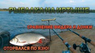 Карта рыбалки на иртыше