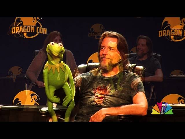 Kermit the Frog at Dragon Con 2015