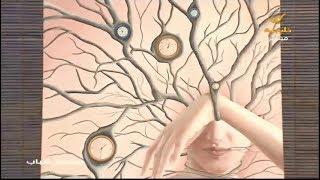 لوحة اليوم .. الفنانة التشكيلية نجلاء محمد : اللوحة نتاج حديث داخلي من أفكار ومشاعر متشعبة