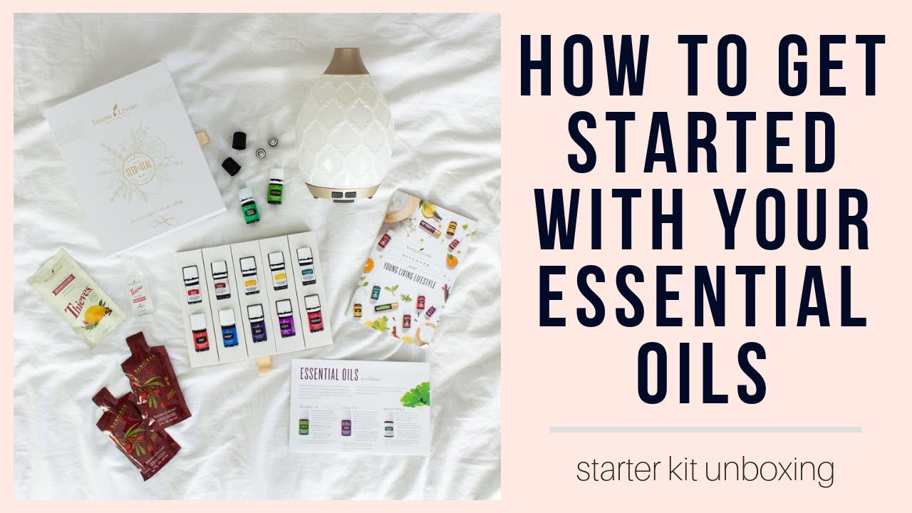 Wellness Wednesday | My Young Living Starter Kit Unboxing