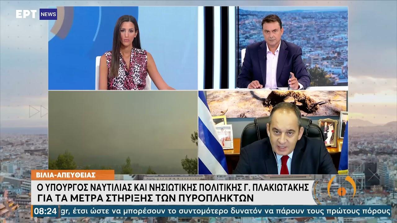 Πλακιωτάκης: Σφραγίσαμε τα θαλάσσια σύνορά μας  ΕΡΤ 19/08/2021