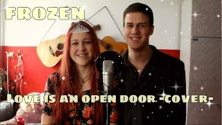 Video ▶ Love Is An Open Door - FROZEN Cover - Lilly M. feat. Filip Mor