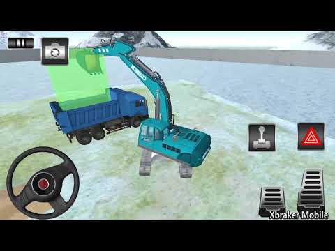 Excavator Simulator 2019 - Heavy Crane Drive - Android GamePlay 3D