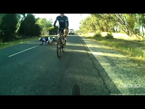 Near miss on Old Barnawartha Road, Wodonga