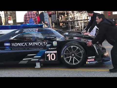 Rolex 24 Race day Paddock 2019