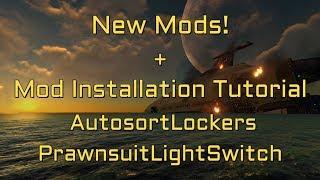 Subnautica New Mods Prawnsuit Lightswitch - AutosortLockers
