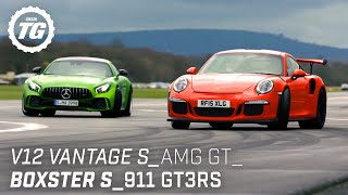 [Top Gear] Chris Harris Drives... Sportscars: V12 Vantage S, AMG GT R, Porsche 911 GT3RS