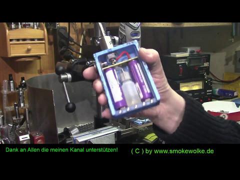 WABECO Bohrständer und Fräsständer zur BoxMod Herstellung