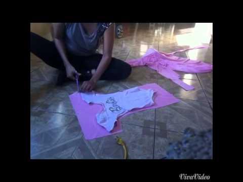 Cosplay Bulma paso a paso 5- vestido :)