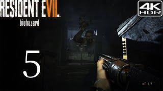 Resident Evil 7 Biohazard  Walkthrough Gameplay 5  Marguerite Boss Fight 4K 60FPS HDR Madhouse