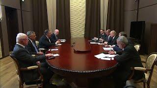 Remarks With Russian President Vladimir Putin