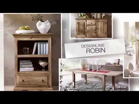 Designerstücke aus edlem Sheesham Massivholz von www.massivmoebel24.de - Design LEEDS