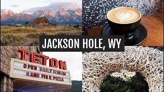 Mormon Row + Exploring Jackson Hole