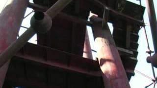 preview picture of video 'Novosady   - Nedokončený památník  u Křepic  2006'