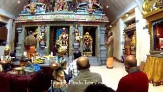 preview picture of video 'New Year 2015 At Sri Raja Rajeswari Amman Temple Stoneleigh,UK 01-01-2015'