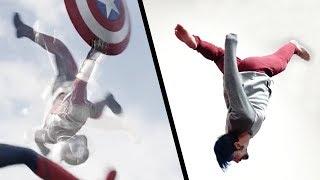 Doing Stunts From Captain America: Civil War (Marvel