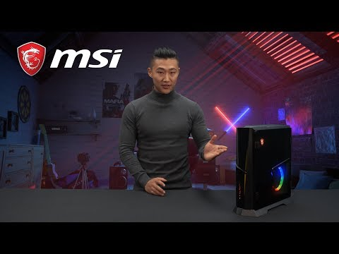 Full overview of MSI Trident X Console-sized Desktop PC| Gaming Desktop | MSI