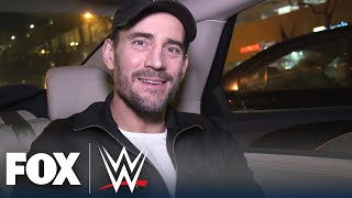 """I'm not going to break the internet. I'm going to break the world."" Follow CM Punk from his hotel to the studio on the magical day of his shocking WWE Backstage debut in this exclusive, behind-the-scenes look.  #WWEonFOX #WWE #CMPunk #WWEBackstage  SUBSCRIBE for more from WWE ON FOX: https://foxs.pt/SubscribeWWEONFOX  ►FOX Sports YouTube channel: http://foxs.pt/SubscribeFOXSPORTS  See more from WWE ON FOX: https://foxs.pt/WWEONFOXFoxSports Like WWE ON FOX on Facebook: https://foxs.pt/WWEONFOXFacebook Follow WWE ON FOX on Twitter: https://foxs.pt/WWEONFOXTwitter Follow WWE ON FOX on Instagram: https://foxs.pt/WWEONFOXInstagram  About WWE ON FOX: Your official home for all things WWE on FOX, from Friday Night SmackDown to NXT and everything in between! WWE highlights, WWE Backstage segments, original stories with your favorite Superstars, and much, much more — find it all right here on WWE on FOX!  Behind the scenes with CM Punk for his stunning WWE Backstage debut 