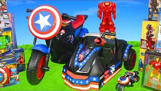 Avengers Superheroes Toys: Hulkbuster, Iron Man, Spiderman & Hulk Toy Vehicles Kids