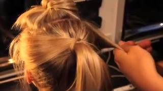 Create a MessyPonytail with Chilli Couture