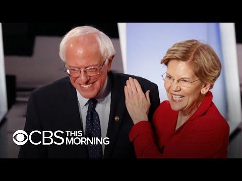 Elizabeth Warren and Bernie Sanders clash ahead of debate