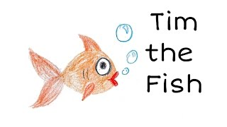 Tim the Fish Easy Read-Along Story for Early Readers: Storytime - FreeSchool Early Birds