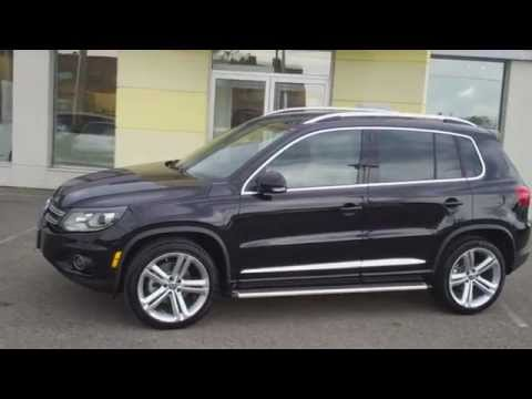 Feature New: 2013 VW Tiguan R-Line (video by Roman)