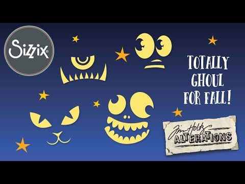 Tim Holtz For Halloween & More! | Sizzix